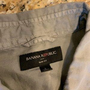 Banana Republic Shirts - Men's Banana Republic Button Up Shirt-Size Large